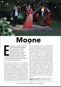 Moone vue par aSk pour le Magazine Musical Illico